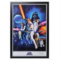 Star Wars R2D2 Poster Kenny Baker Подаръци и играчки