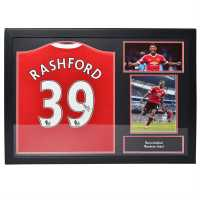 Team Marcus Rashford Signed Manchester United Shirt Marcus Rashford Сувенири