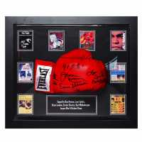 Team Ali Opponents Signed Boxing Glove Muhammed Ali Сувенири