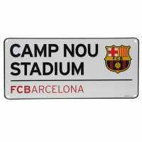 Team 3D Street Sign Barcelona Подаръци и играчки