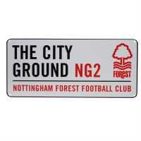 Team 3D Street Sign Notts Forest Подаръци и играчки