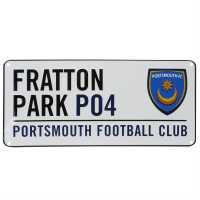 Team 3D Street Sign Portsmouth Подаръци и играчки