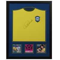 Ръчно Подписана Тениска Carlos Alberto Hand Signed Shirt 70 World Cup Подаръци и играчки