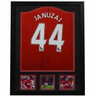 Team Adnan Januzaj Hand Signed Manchester United Shirt  Подаръци и играчки