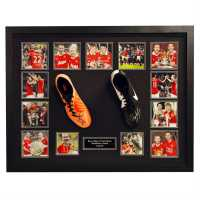 Team Ryan Giggs And Paul Scholes Hand Signed Boots Domed Boot Сувенири