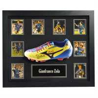 Zola Hand Signed Boot Gianfranco Zola Сувенири