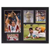 Team And Johnson Hand Signed Frame Rugby World Cup Сувенири