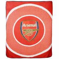 Team Поларено Одяло Fleece Blanket Arsenal Футболни аксесоари