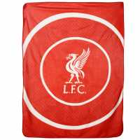 Team Поларено Одяло Fleece Blanket Liverpool Футболни аксесоари