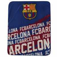 Team Поларено Одяло Fleece Blanket Barcelona Футболни аксесоари