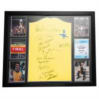 Team 1971 Fa Cup Final Signed Shirt 1971 FA Cup Сувенири