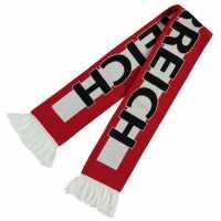 Team Euro Scarf Red/White Ръкавици шапки и шалове