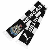 Puma Newcastle United Scarf Black/White Ръкавици шапки и шалове