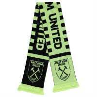 Team Football Neon Scarf West Ham Ръкавици шапки и шалове