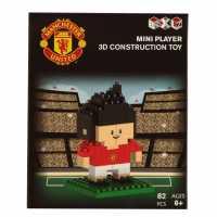 Team Mini Player 3D Construction Toy Junior Boys Man United Подаръци и играчки
