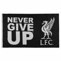 Team Never Give Up Lfc Flag  Футболни аксесоари