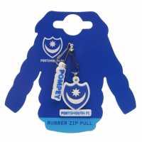 Team Rubber Zip Pulls Portsmouth Подаръци и играчки
