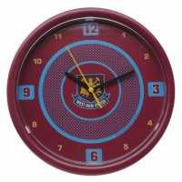 Team Стенен Часовник Football Wall Clock West Ham Футболни тениски на Арсенал