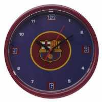 Team Стенен Часовник Football Wall Clock Barcelona Футболни тениски на Арсенал
