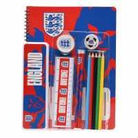 Моливник Пълен Team England A4 Stationary Set Junior Boys  Подаръци и играчки