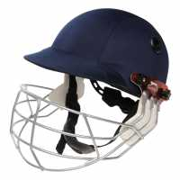 Slazenger International Cricket Helmet Navy Каски за крикет