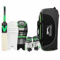 Slazenger V600 Academy Set Juniors Right Hand Комплекти за крикет
