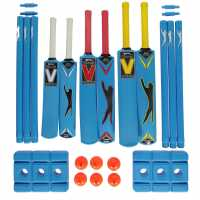 Slazenger Academy Team Plastic Cricket Set Junior  Крикет