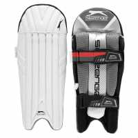 Slazenger Cricket Wicket Keeping Pads Mens - Наколенници за крикет