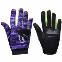 Kookaburra Nitrogen Hockey Gloves Purple Хокей