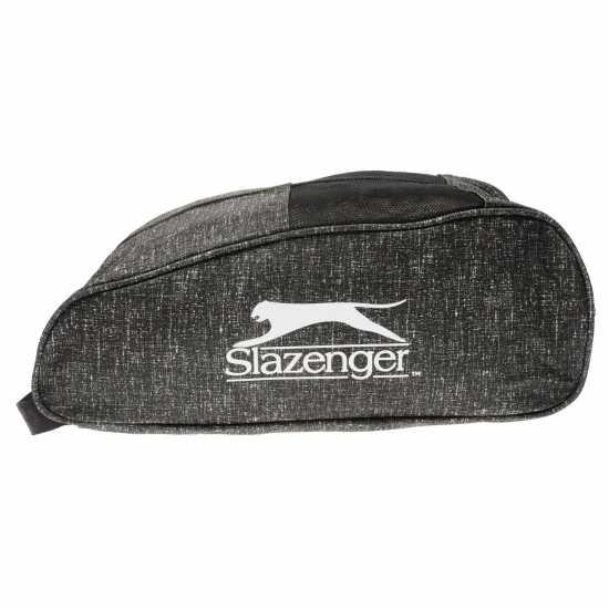 d10b1d622b8 Slazenger Чанта За Голф Обувки Golf Shoe Bag Black Чанти за футболни бутонки