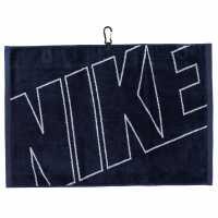 Nike Graphic Golf Towel Navy/Silver Хавлиени кърпи