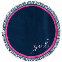 Gul Circle Beach Towel Navy Хавлиени кърпи
