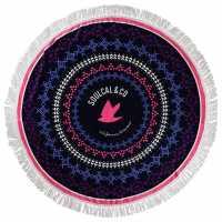 Soulcal Circle Beach Towel Printed Хавлиени кърпи