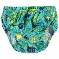Zoggs Swim Nappy Blue Воден спорт