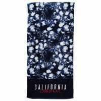 Soulcal Beach Towel Navy/Print Хавлиени кърпи