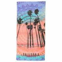 Soulcal Beach Towel Tree Print Хавлиени кърпи