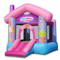 Happy Hop Hop Princess Joy House Bouncy Castle With Slide Multi Подаръци и играчки