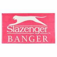Slazenger Banger Towel Pink Хавлиени кърпи