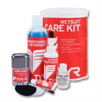 Tyr Wetsuit Care Kit Red/White Воден спорт