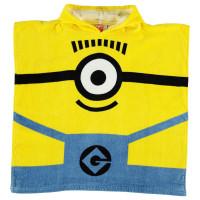 Character Детско Пончо Towel Poncho Infant Minions Хавлиени кърпи
