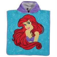 Character Детско Пончо Towel Poncho Infant Disney Ariel Воден спорт
