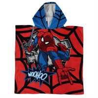 Character Детско Пончо Towel Poncho Infant Spiderman Хавлиени кърпи
