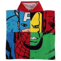 Character Детско Пончо Towel Poncho Infant Avengers Хавлиени кърпи