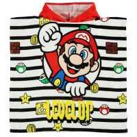 Character Детско Пончо Towel Poncho Infant Nintendo Хавлиени кърпи