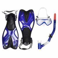 Gul Thresher 30 Mask And Snorkel Set Junior Blue/Black Воден спорт