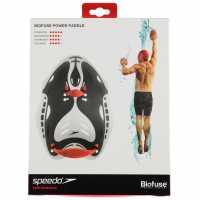 Speedo Biofuse Paddles Red Помощни плувни средства