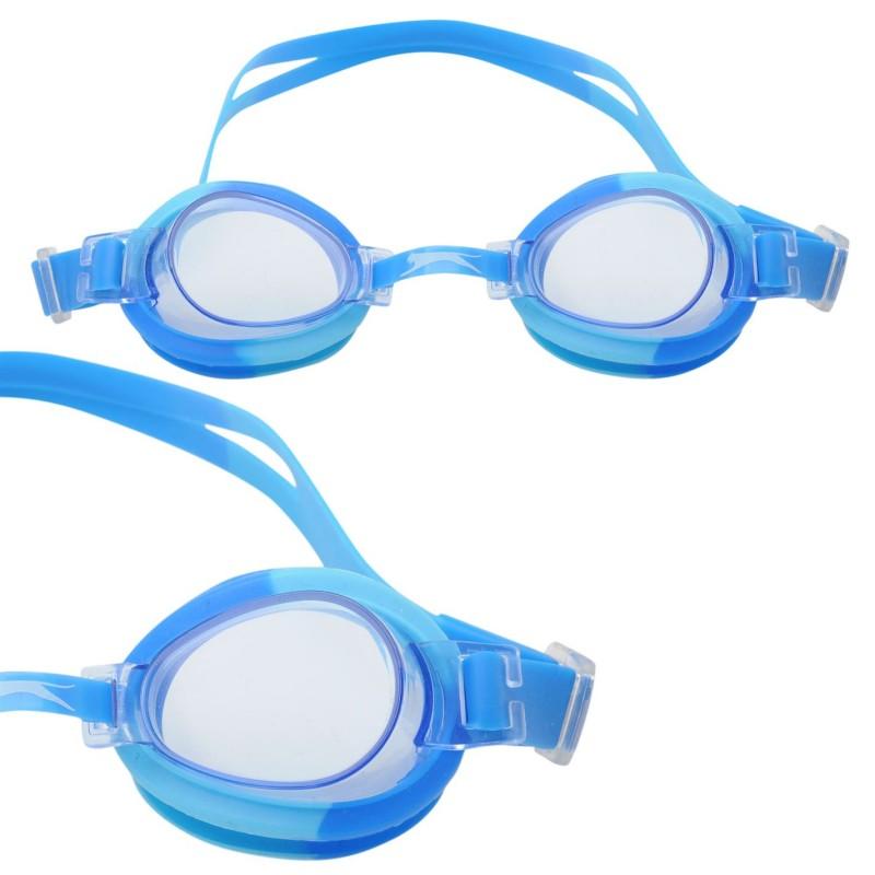 c176f7676ce Slazenger Плувни Очила За Деца Wave Swimming Goggles Juniors Blue Плувни  очила и шапки