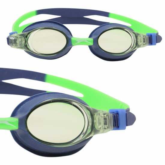 611b59b1c76 Slazenger Edge Goggle Junior Navy Плувни очила и шапки
