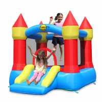 Happy Hop Hop Castle Bouncer With Slide  Подаръци и играчки