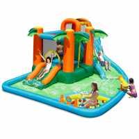 Happy Hop Hop Oasis 7In1 Bouncy Castle Waterpark Multi Подаръци и играчки
